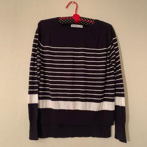 Zara kinit . Long sleeve knitting sweater.